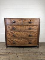 19th Century Mahogany Bow Front Chest of Drawers (8 of 12)