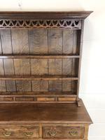 Antique Oak Pot Board Dresser (6 of 18)