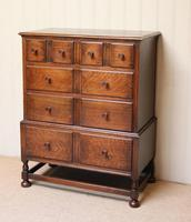 Solid Oak Chest of Drawers (8 of 10)