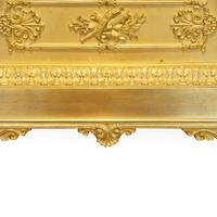Large French Empire Gilt Clock by Deniere et Fils (3 of 11)