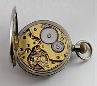 1920s Swiss stem winding pocket watch. (2 of 5)