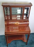 Edwardian Inlaid Mahogany Bonheur Du Jour Desk (7 of 7)