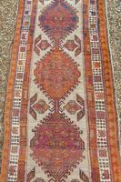 Antique Sarab Carpet Runner Rare Colours (5 of 9)