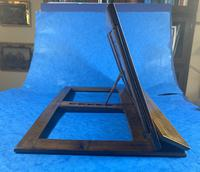 Victorian Italian Sorento Olivewood Book Stand with Micro Mosaic Inlay (5 of 23)