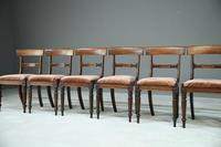 6 Mahogany Bar Back Dining Chair (3 of 8)