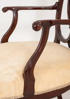 Elegant Mahogany Chippendale Style Carver Chair (6 of 7)