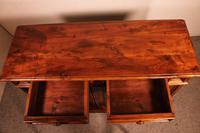 Italian Credenza In Walnut And Pear Wood Inlays - 17th Century (6 of 13)