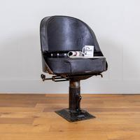 Vintage Industrial 1940s Lorry Bus Seat / Chair by Chapman of London (13 of 13)