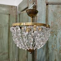 Beautiful French Empire Style Basket Chandelier (5 of 6)