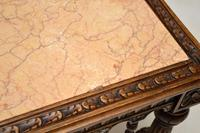 Antique Carved Marble Top Coffee Table (14 of 14)