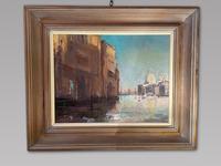 Christopher Daynes - Oil On Board - The Salute, Venice