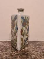 18th Century Antique Iznik Stoneware Vase Flask Bottle Persian Ottoman Islamic (9 of 12)