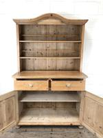 Antique Pine Country Dresser with Shaped (5 of 7)