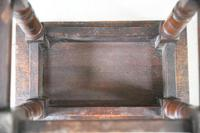 Charles II Style Oak Joint Stool (6 of 12)