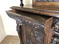 Antique 19th Century Carved Oak Court Cupboard (17 of 24)