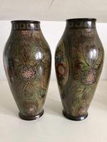 Pair of Large Antique Royal Bonn Vases - Art Nouveau (2 of 9)