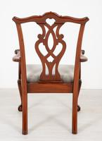 Set of 8 Mahogany Chippendale Style Dining Chairs (9 of 17)
