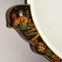 Antique Chinese Style Chinoiserie Mirror (3 of 7)