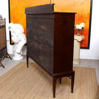 Edwardian Bookcase Inlaid Mahogany Glazed (7 of 7)