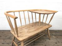 Mid Century Hall Bench or Telephone Table (9 of 13)