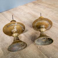 Pair of 17th Century Brass Candlesticks (8 of 10)