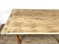 Antique Oak Scrub Top Kitchen Table (9 of 11)