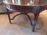 Fine Antique Figured Mahogany  'Sunburst Top' Coffee Table (4 of 6)