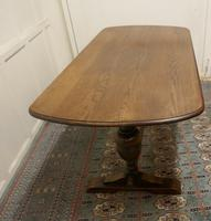 Good Quality Oak Refectory Dining Table (3 of 8)