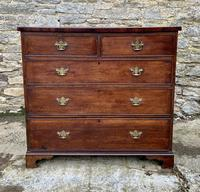 Antique Oak Chest of Drawers with Crossbanded Edge (2 of 17)