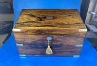 Victorian  Rosewood Stationary Box (10 of 33)