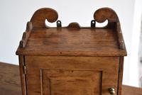 Small Rustic Antique Oak Wall Cupboard (9 of 10)