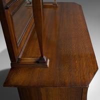 Large Antique Sideboard, English, Oak, Dresser, Cabinet, Liberty & Co, Victorian (9 of 12)