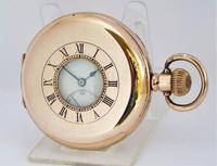 1920s Rotherhams Half Hunter Pocket Watch