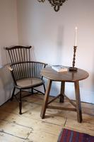 Late 18th Century Oak Cricket Table (4 of 20)