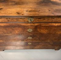 French Burr Walnut Commode Chest of Drawers (6 of 7)