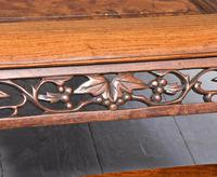 Qing Period Chinese Rosewood & Burr Wood Low Table (7 of 8)