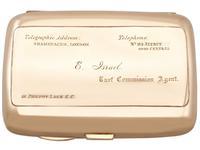 9ct Rose Gold & Enamel Cigarette Case - Antique Edwardian (2 of 12)