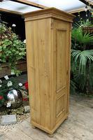 Fabulous Old Stripped Pine Cupboard / Wardrobe (3 of 11)