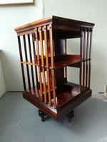 Fine English Revolving Bookcase