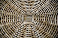 Large Natural Wicker Coffee Table (6 of 12)