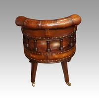 Pair of Victorian leather desk chairs (4 of 7)