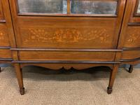 Maple & Co Inlaid Mahogany Display Cabinet (3 of 13)