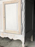 French 2 Door Painted Cabinet (3 of 11)