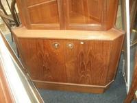 Glazed Teak Corner Cabinet (2 of 2)