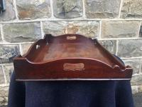 Antique George III Mahogany Butlers Tray (4 of 7)
