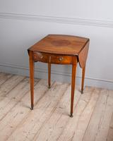 Sheraton Period Satinwood Pembroke Table (5 of 7)