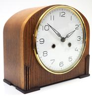 Really Good Hat Shaped Mantel Clock – Striking 8-day Arched Top Mantle Clock (3 of 10)