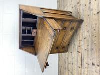 Mid 20th Century Art Deco Style Oak Bureau (7 of 15)