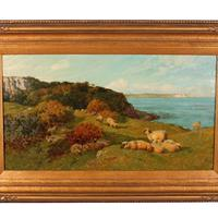 Oil on Canvas Landscape by Charles Collins (8 of 9)