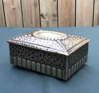 Art Nouveau Brass Trinket / Jewellery Box (4 of 5)